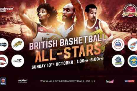 British Basketball All Stars Championship - One child or adult silver ticket from 13th October - Save 39%