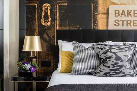 Holmes Hotel London - Stylish Hotel Near Baker Street Inspired by Sherlock Holmes for two - Save 47%