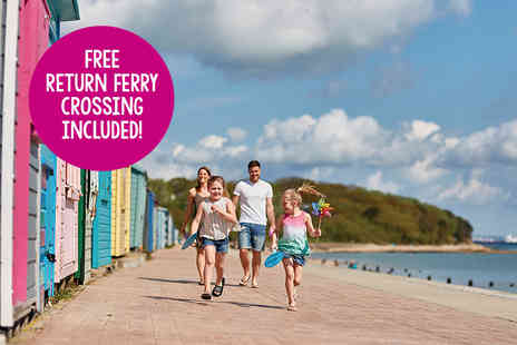 Parkdean Resorts - Four nights midweek Isle of Wight self catered break for up to six people with return ferry transfer - Save 48%