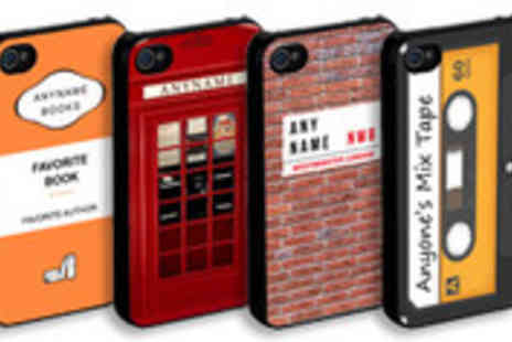 Treat Gifts - Choice of personalised iPhone 4 or 4S cases - Save 70%