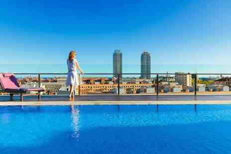 H10 Marina Barcelona - Four Star Urban Sophistication with a Rooftop Pool for two - Save 67%