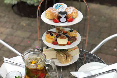 The Engine Shed - Afternoon tea for two with a glass Pimms each - Save 0%