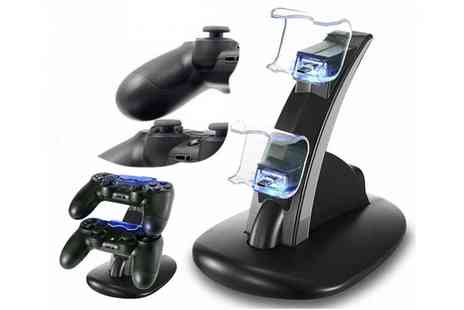 My Brand Logic - PS4 dual controller Usb charging station - Save 0%