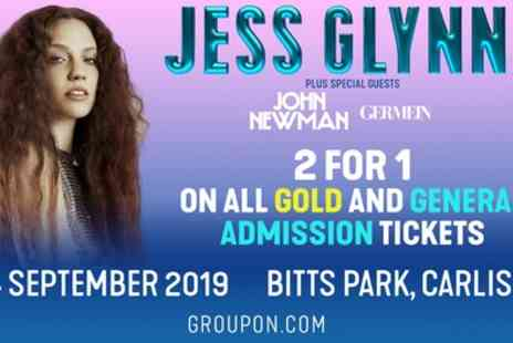 Jess Glynne Tickets - Two General Standing or Gold Circle Tickets on 14th September - Save 54%