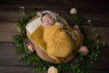 Lavern Washington Photography - Newborn or Baby Photoshoot with Print, Makeover and Refreshments - Save 0%