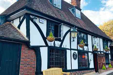 The Walnut Tree - Meal and bubbly for 2 at 15th century Kent inn - Save 51%