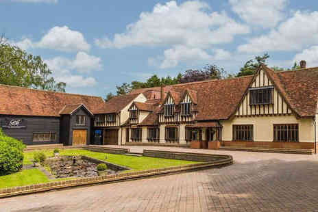 Great Hallingbury Manor - Overnight Bishops getaway for two people with three course dinner and breakfast - Save 38%