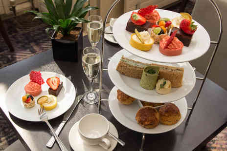 Corus Hotel Hyde Park - An afternoon tea for two with a glass of Prosecco each - Save 43%