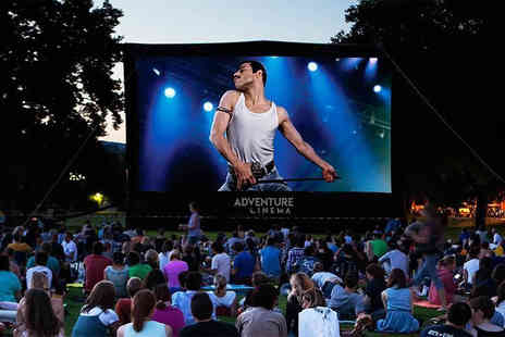 Adventure Cinema - Ticket to an outdoor cinema screening of Bohemian Rhapsody on 26th August - Save 44%