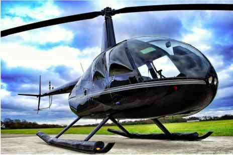 Virgin Experience Days - 15 mile Helicopter Pleasure Flight for Two - Save 0%