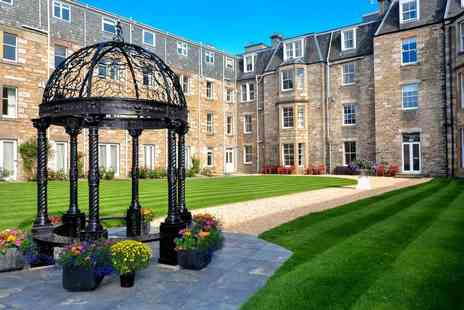 Fisher™s Hotel - Overnight stay for two people with a dram of whisky, afternoon tea, a bottle of Prosecco, breakfast and late check out - Save 60%