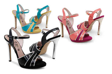 Brands Store - Pair of Paris Hilton strappy high heel sandals - Save 77%