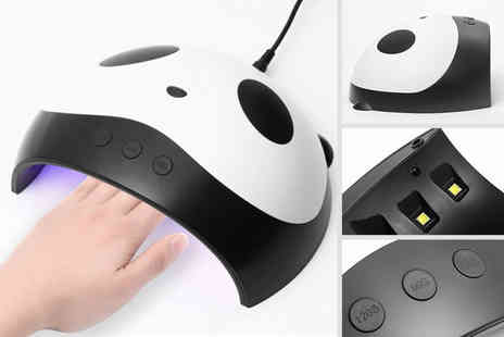 hey4beauty - UV 8 Led panda nail lamp or UV 12 Led panda nail lamp - Save 70%