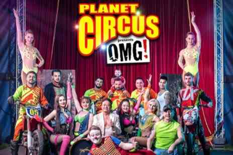 Planet Circus - One single or a family ticket to Planet Circus 2019 - Save 0%