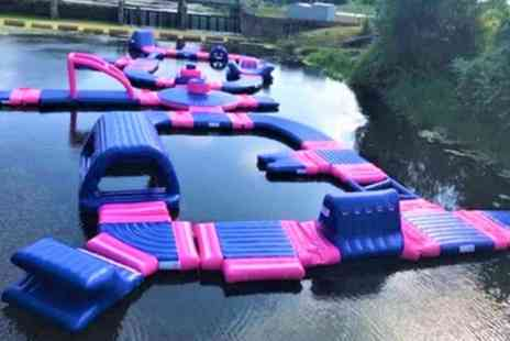 Northampton Active - Aqua Park Entry with Wet Suit Hire for Up to Four - Save 25%