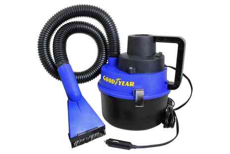 Groupon Goods Global GmbH - One or Two Goodyear Wet and Dry Car Vacuum Cleaners - Save 0%
