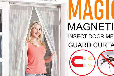 Bag A Bargain - Magnetic Insect Screen Curtain - Save 75%