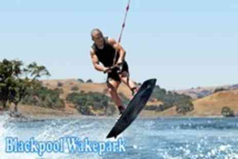 Blackpool Wake Park - Two hour wakeboard introduction lesson including equipment - Save 63%
