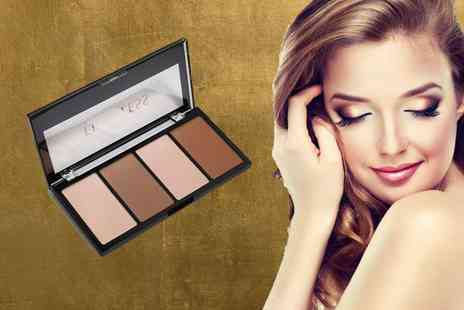 GetGorgeous - Contour and highlight makeup palette - Save 63%