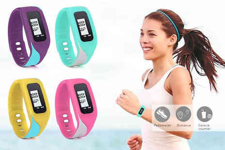 Ugoagogo - V-Fit 4 in 1 fitness tracker with pedometer - Save 83%