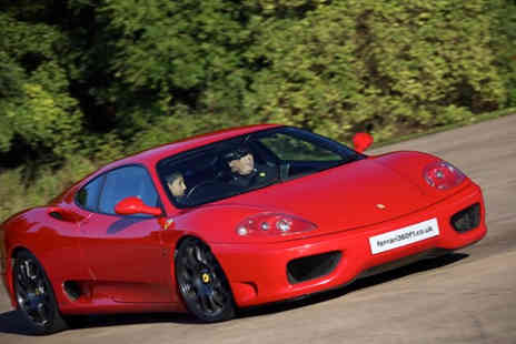 Ferrari 360 F1 - Six lap junior supercar experience with Ferrari 360 F1 - Save 62%