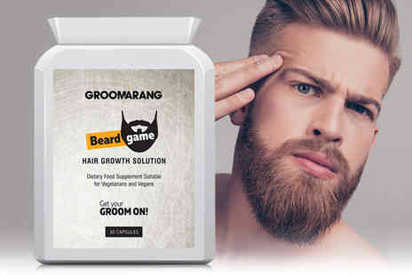 Forever Cosmetics - Month Supply Groomarang Beard Tablets - Save 47%