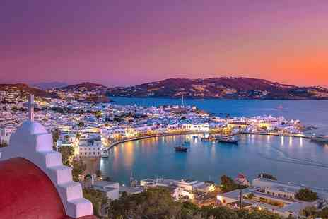 Bargain Late Holidays - Three nights Mykonos beach break with breakfast and flights - Save 21%