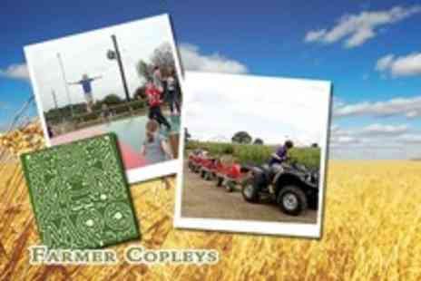 Farmer Copleys - Entry for 4 people to the award-winning Farmer Copleys Farm and Corn Maze - Save 55%