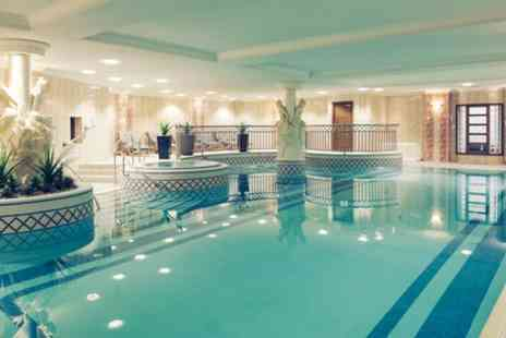 Mercure Dartford Brands Hatch Hotel and Spa - Spa Pass with Choice of Afternoon Tea or Lunch for Two - Save 31%