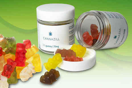 CBD Star - Pack of 14 Cannazill CBD edible gummies - Save 38%