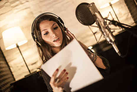 Pitch Perfect Studio - Two Hour audio recording experience for vocalist or musician - Save 51%