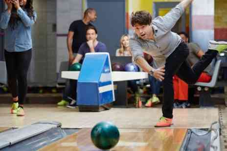 Disco Bowl - One Hour of Bowling with Shoe Hire and Optional Food For Up to Six - Save 73%