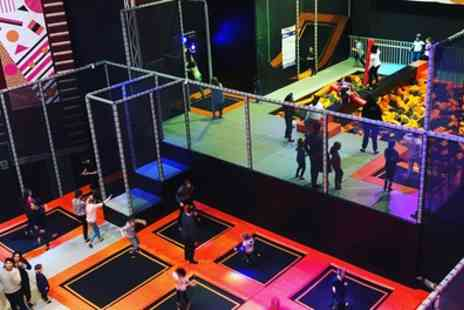 Zap Space - Trampoline Session for Toddler - Save 33%