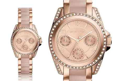 Ticara Watches - Ladies Michael Kors MK6175 rose gold mini blair watch - Save 61%