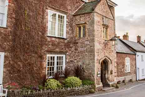 The Luttrell Arms Hotel - Exmoor National Park getaway with cream tea - Save 0%