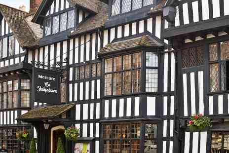 Mercure Stratford upon Avon Shakespeare Hotel - Stratford upon Avon stay with bottle of wine - Save 0%