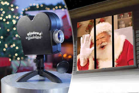 Domosecret - Christmas and Halloween window projector - Save 71%