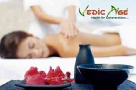 Vedic Age - One Hour Ayurvedic Massage With Steam - Save 46%