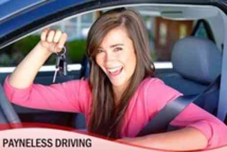 Payneless Driving - Eight Hours of Driving Lessons - Save 48%