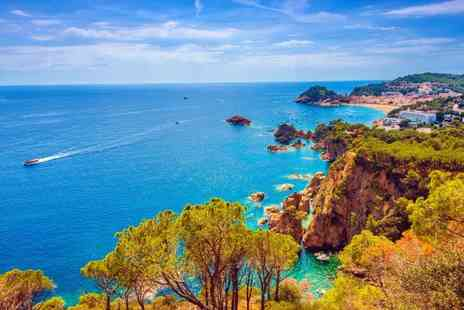 Bargain Late Holidays - Two nights self catered Costa Brava apartment holiday with return flights - Save 48%