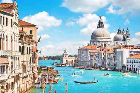 Super Escapes Travel - Two nights Venice break including breakfast and flights - Save 42%