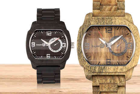 Earth Wood Watches - Eco friendly unisex watch - Save 66%