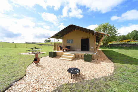 Carrs Hill - Two nights glamping stay in a safari tent for up to five people - Save 32%