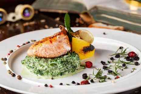 Hilton Canary Wharf - Three course dining and a bottle of bubbly for two - Save 0%
