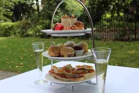 St Pauls Hotel - Afternoon tea for two people with a glass of champagne each, bottomless champagne on Monday to Friday - Save 36%