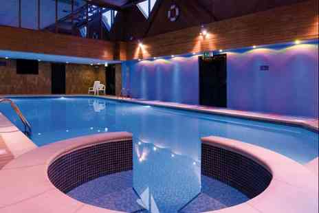 Macdonald Elmers Court Hotel & Resort - Spa day for two people with full spa access, a choice of two Elemis treatments each, a cream tea and a glass of Prosecco each - Save 55%