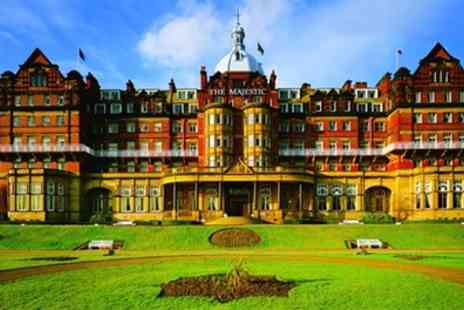 Majestic Hotel - Standard or Deluxe Room for Two with Breakfast, First Nights Dinner and Prosecco - Save 28%