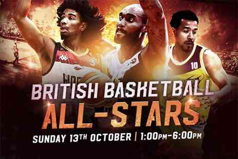 British Basketball League - Silver tier child ticket to the British Basketball All Stars Championship  - Save 39%