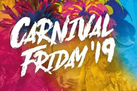Flagz - One or two tickets to Carnival Friday from 23rd August - Save 40%