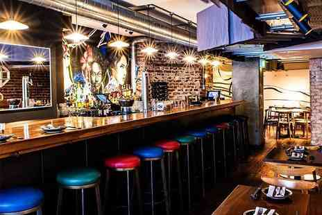 Gamma Gamma - Two course dining for two people with a glass of Prosecco each - Save 45%